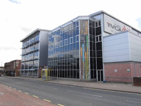 photo of Youth Hub Site